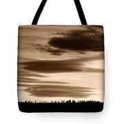 Lenticular Sunset 2 Tote Bag
