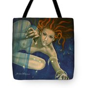 Leo From Zodiac Series Tote Bag