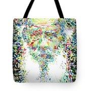 Leo Tolstoy Watercolor Portrait.1 Tote Bag