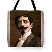 Leon Herrmann, French Magician Tote Bag