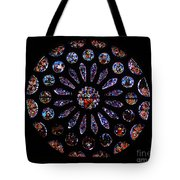 Leon Spain Cathedral Rosette Tote Bag