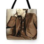 Leonard Cohen Artwork 2 Tote Bag