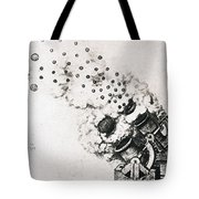 Leonardo: Cannon Tote Bag