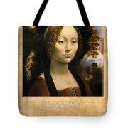 Leonardo Da Vinci 2 Tote Bag
