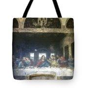 Leonardo Da Vinci's Last Supper Tote Bag