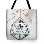 Leonardo Icosahedron Tote Bag