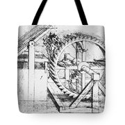 Leonardo: Invention Tote Bag
