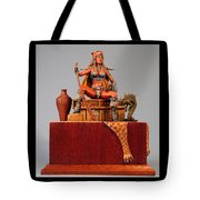 Leopard And The Serpent Tote Bag