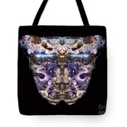 Leopard Heart Bowl Tote Bag