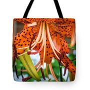 Leopard Lily 2 Tote Bag