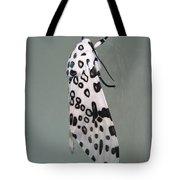 Leopard Moth Tote Bag
