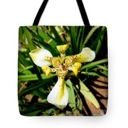 Leopard Orchid Tote Bag