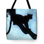 Leopard - Silhouette Tote Bag