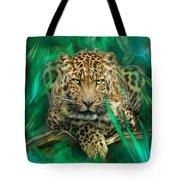 Leopard - Spirit Of Empowerment Tote Bag