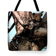 Leopard Spotted Tote Bag