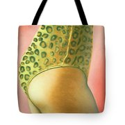 Leopard Suit Tote Bag