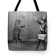 Leopard Trainer, C1906 Tote Bag