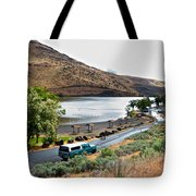 Lepage Rv Park On Columbia River-or Tote Bag