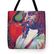 Leroi Moore Colorful Full Band Series Tote Bag