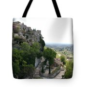 Les Baux De Provence Tote Bag