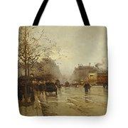 Les Boulevards Paris Tote Bag