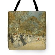 Les Champs-elysees Tote Bag