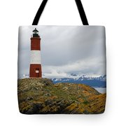 Les Eclaireurs Lighthouse Southern Patagonia Tote Bag