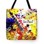 Les Paul Retro Tote Bag