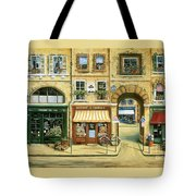 Les Rues De Paris Tote Bag