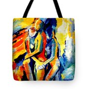 Les Silhouettes Tote Bag