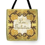 Les Toilettes Tote Bag by Debbie DeWitt