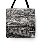 Les Toits De Paris Tote Bag