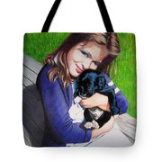 Leslie And Sergeant Tote Bag