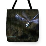 Lessons From Nature 1 - Be Iridescent Tote Bag
