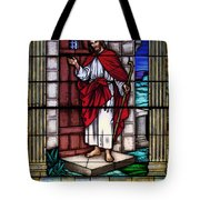 Let Him Into Your Heart Tote Bag