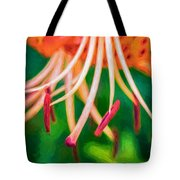 Let It All Hang Out - Paint Tote Bag