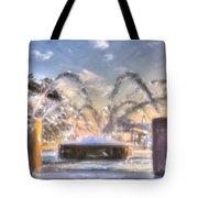 Let It Spray Tote Bag