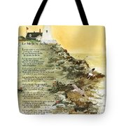 Let Me Be By The Sea Tote Bag