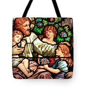 Let The Children Come To Me Tote Bag