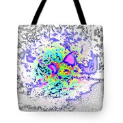 So Let This Stupid Fight Begin, Says The Fantasy Rooster  Tote Bag