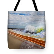 Let The Notes Tumble Tote Bag
