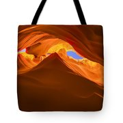 Let The Sunshine In The Canyons Tote Bag
