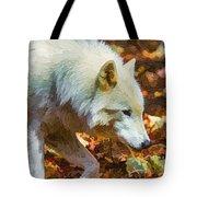 Let The Timber Wolf Live Tote Bag by John Haldane