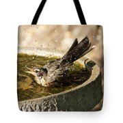 Let The Water Fly Tote Bag