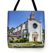 Let There Be Light Knowles Memorial Chapel 1 By Diana Sainz Tote Bag