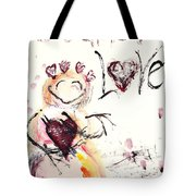 Let There Be Love Tote Bag