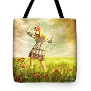 Let Us Dance In The Sun Tote Bag