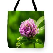 Let Us Live In Clover - Featured 3 Tote Bag