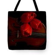 Let Us Make Beautiful Music Together Tote Bag