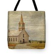 Let Us Worship Tote Bag